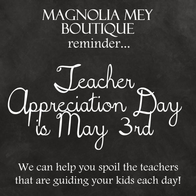 Magnolia Mey Events - teacher