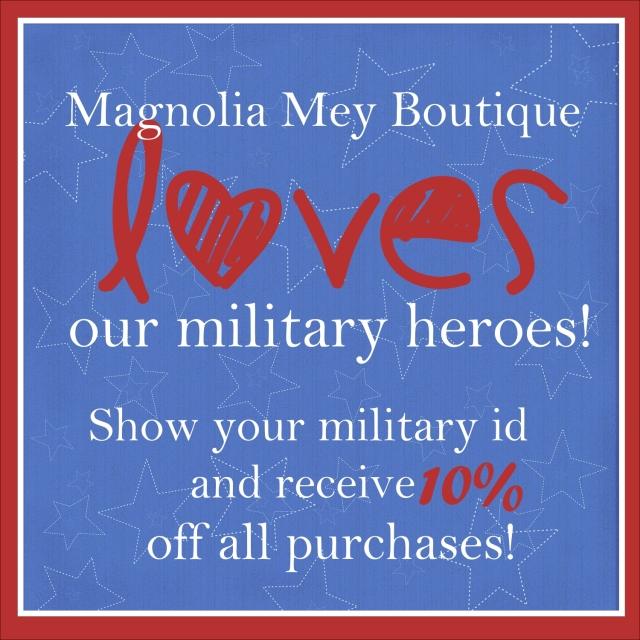 Magnolia Mey Military