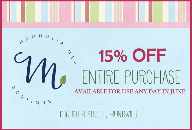 Magnolia Mey PCC Coupon